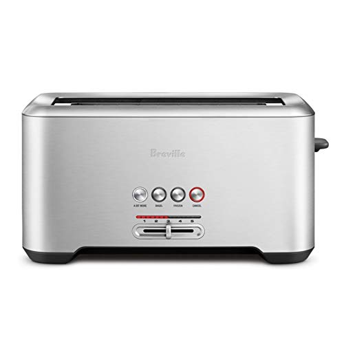 Breville the Bit More Long Slot 4-Slice Stainless Steel Toaster - BTA730XL by Breville (Image #2)
