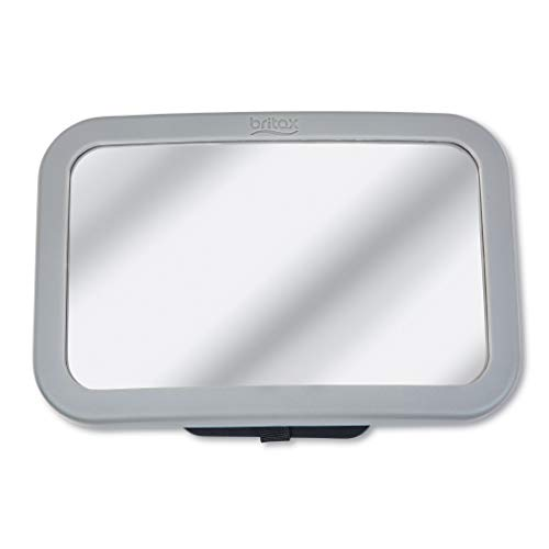 Britax Baby Car Mirror for Back Seat | XL Clear View + Easily Adjusts + Crash Tested + Shatterproof