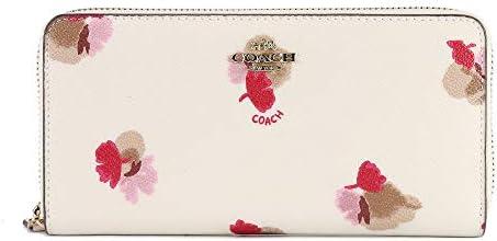 코치 지갑 COACH 지갑 코치 F53794 플로랄 프린트 아코디언 장 지갑 화이트 병행 수입품 / Coach Long Wallet COACH Wallet Coach F53794 Floral Print Accordion Long Wallet White Parallel Imported Goods