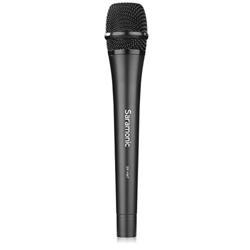 Saramonic SR-HM7 Professional Cardioid Unidirectional Dynamic Microphone Vocal Handheld MIC Perfect for Church, Wedding, Karaoke ,Live Vocals, Stage ,Home Stuidio Recording ,Interview and Presentation by Saramonic