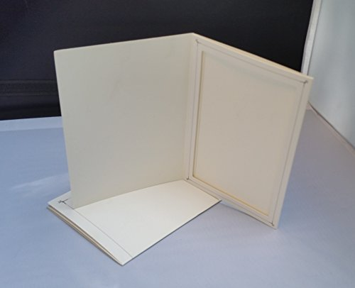 Better Crafts Cardboard Photo Folder 4x6 - Pack of 100 White by Better Crafts (Image #2)