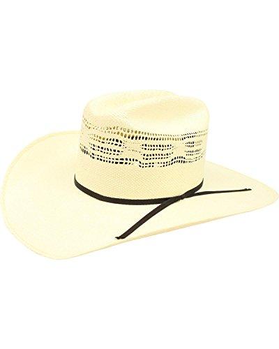 Bangora Straw - ARIAT Unisex Bangora Cowboy Hat, Natural, 7 1/8