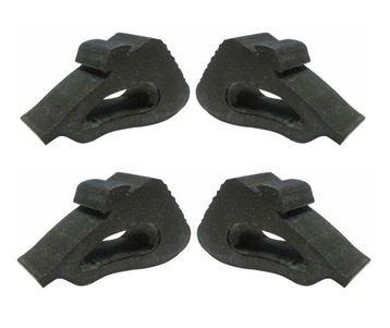 - thestopshop 1982-1992 Camaro and Firebird Hood Side Rubber Bumper Stoppers (4 Piece Set)