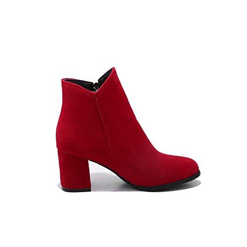 Compensées Femme Balamasa Abl10646 Red Sandales qSSEf