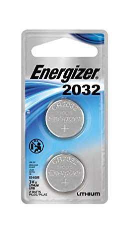Energizer Lithium Coin Watch/Electronic Battery 2032, 2-Count (Best Tv Value For Money 2019)