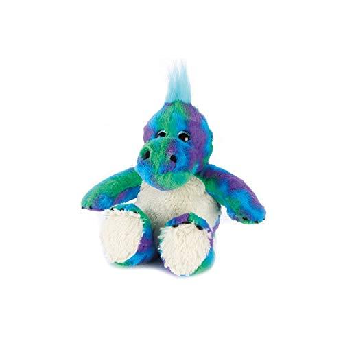 (Warmies - Plush Rainbow Dinosaur Microwaveable Hottie)
