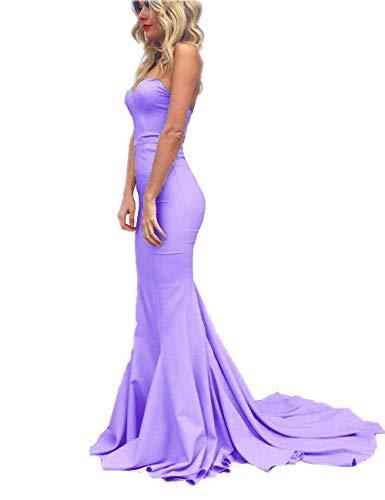 WiWiBridal 2019 Women's Sweetheart Strapless Mermaid Prom Evening Formal Dresses ()