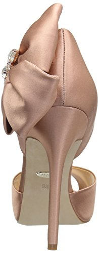 Pink Heeled Women's Mischka Badgley Samra Dark Sandal nOBaxHU