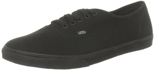 Unisex Canvas Authentic Lo Black PRO Classic Adulto Black Sneaker Vans Nero RAFYqcY