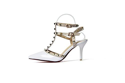 Sandales 5 Inconnu Blanc 36 EU Femme 1TO9 Blanc Compensées 5wFFxcPavq