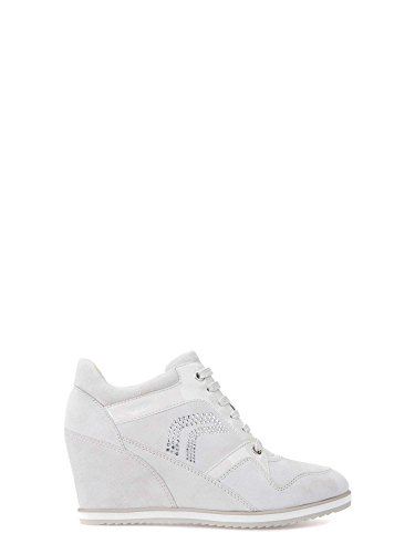 Geox 021hh Femmes Blanc D5454a Sneakers 5rq85nt