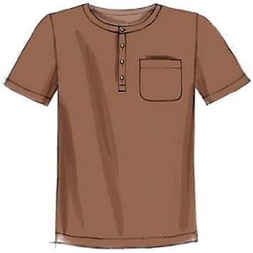 t-shirts et shorts McCalls Patron pour homme Patron de couture facile 6973/Tank TOPS
