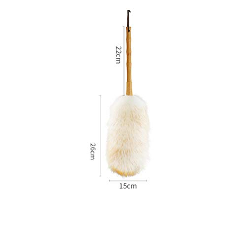 ZHANGY Ostrich Feather Makeup/Role Playing Accessories/Props Dust Scorpion Wooden Handle Cleaning The Donkey by ZHANGY (Image #6)
