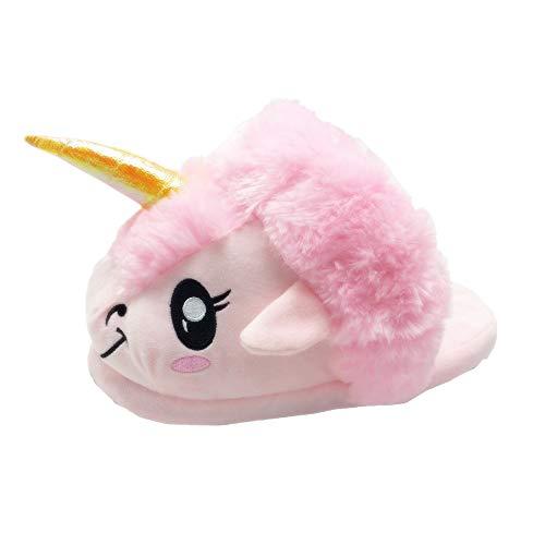 Antiscivolo Unicorno Pantofole Comode Suola E 3d Pink Morbide Novità Oamore wUqRHna1Zx