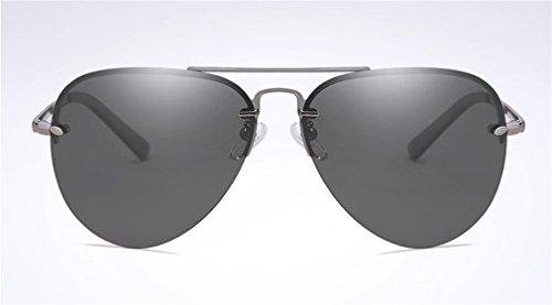 Gafas C Antena de UV sin de Sol Lentes Protección Conducción Sol MOQJ Gafas Marco polarizadas Gafas C de qtnxaOWwd8