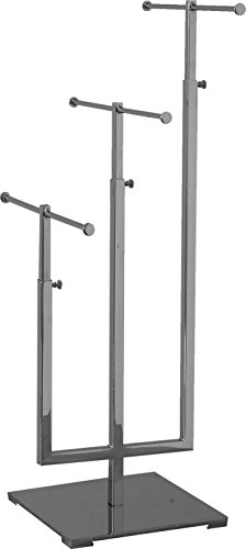 AMKO CSR-3 3Tier Jewelry Stand, Adjustable Upright (Pack of 1)