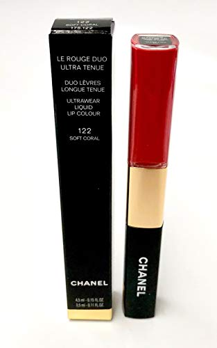 LE ROUGE DUO ULTRA TENUE Ultra Wear Lip Colour: 122 Soft Coral