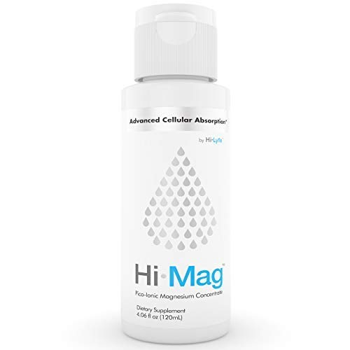 Pico Magnesium Supplement for High Absorption | Pico-Ionic | Promotes Calm, Sleep & Anxiety Relief | Eases Restless Leg Syndrome & Supports Fibromyalgia | by Hi-Lyte | 80 Servings