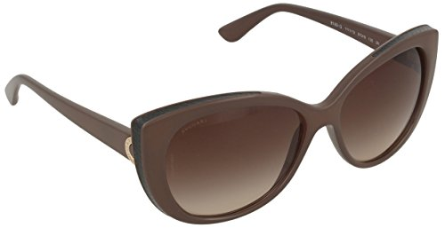 Bvlgari BV8169Q 1111-13 Brown BV8169Q Cats Eyes Sunglasses Lens Category 3 - Shades Bulgari