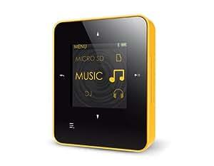 Creative Zen Style M300 - Reproductor de MP3 con 8 GB (pantalla TFT de 3,7 cm (1,45 pulgadas), radio, USB, Bluetooth), color negro y amarillo