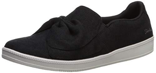 (Skechers Women's Madison AVE-My Town Sneaker, BLK=Black, 11 M US)