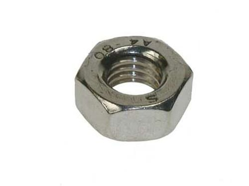Metric Hexagonal (Hex) Full Nuts A2 Stainless Steel M8 8mm (Pack of 10 nuts) AHC 5053440570072