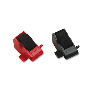 DataProducts R14772 Compatible Ink Rollers, Black/Red, 2/...