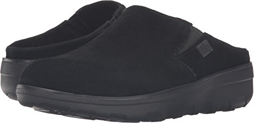 - FitFlop New Women's Loaff Suede Clogs Black 10