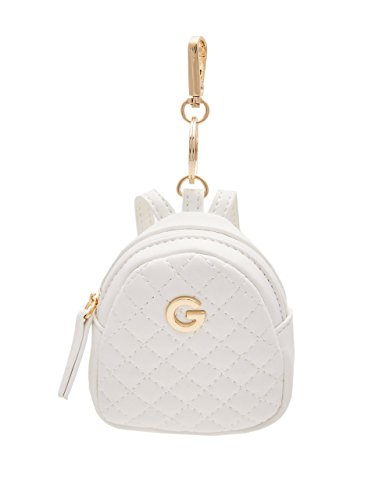G by GUESS Women's Mini Quilted Backpack Keychain