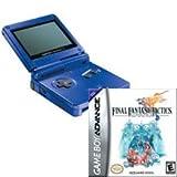 Game Boy Advance SP Cobalt Blue and Final Fantasy Tactics Bundle