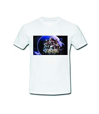 white Round Neck T-Shirt For Unisex