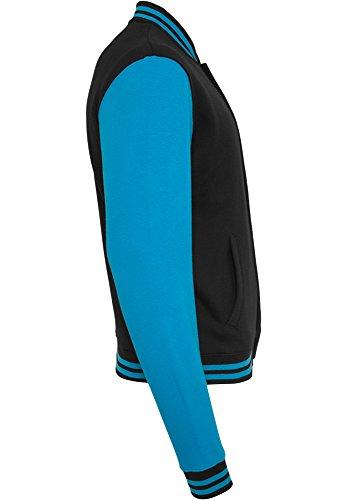 Tone Uomo turchese Felpa Sweatjacket 2 Classics Black College Bekleidung Urban AUnft6xq