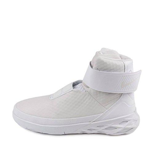 Nike Heren Swoosh Hntr Jager Zwart / Wit Lederen Wit
