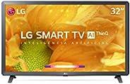 "2021 Smart TV LG 32"" HD 32LM627B WiFi Bluetooth HDR ThinQAI compatível com Inteligência Artif"