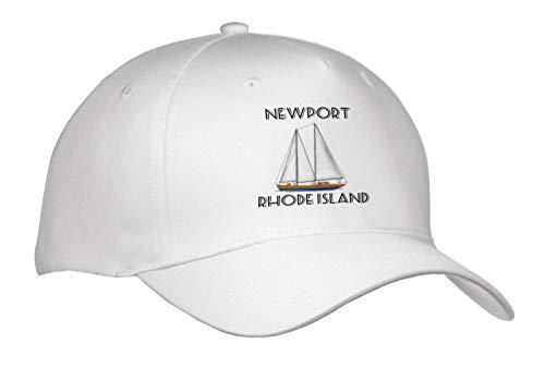 Macdonald Creative Studios - Nautical - Classic Sailboat for Sailing Newport, Rhode Island. - Caps - Adult Baseball Cap (Cap_295626_1) ()