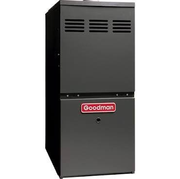 - Goodman GMH80803BN Gas Furnace, Two-Stage Burner/Multi-Speed Blower, Upflow/Horizontal - 80,000 BTU