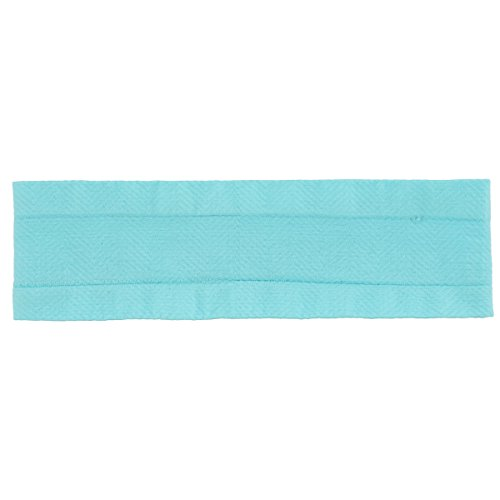 adidas Women's Stronger Hairband, Energy Aqua/Hawthorne Pink, One Size (Athletic Adidas Headband)