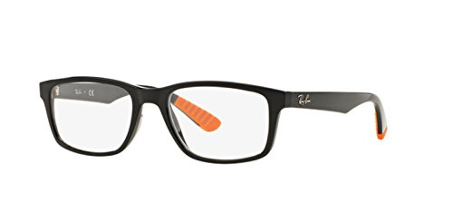 Ray-Ban, Montage Homme Nero (Black/Orange)