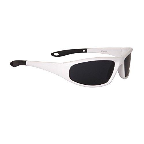 lunettes de soleil polarisantes polarisées sport verres polarisés homme femme CTS05822 (monture grise/verres gris, largeur:135mm hauteur:37mm)