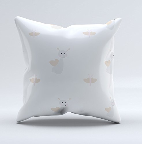 Bees And Butterflies Baby/Toddler Pillowcase Available in Organic Cotton And Koan Cotton by Tinytweets