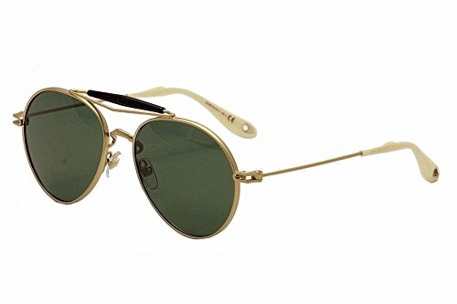 Givenchy 7012/S AOZ Matte Gold 7012/S Aviator Sunglasses Lens Category 3 Lens - Shades Givenchy