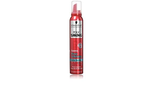 Poly Swing Espuma Rizos Definidos - 6 x 200 ml, Total: 1200 ml: Amazon.es: Belleza