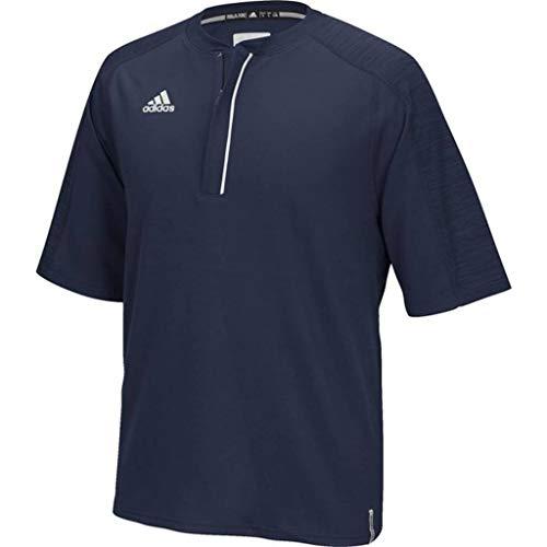 - adidas Men's Climalite Modern Varsity Short Sleeve 1/4 Zip