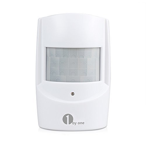 1byone PIR Motion Sensor for Wireless Driveway Alert