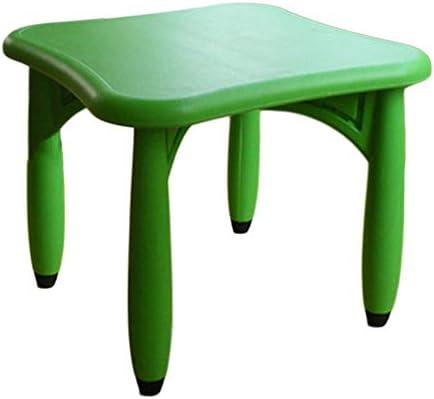 LIANGJUN - Juego de taburetes de Mesa para niños y sillas de ...