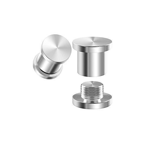 BIG GAUGES Pair 316L Surgical Steel 4gauges 5 mm Tunnels Internally Threaded Piercing Jewelry Ear Stretching Lobe Plug Earring BG1054