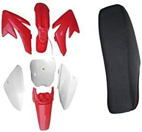Honda CRF 70 CRF70 CRF70F Plastic Fairing Fender Body Kit Red