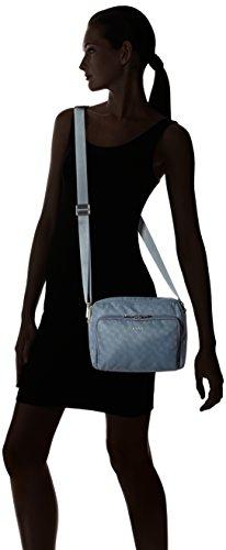 Joop! Nylon Cornflower S Nella Shoulderbag Shz, Borse a spalla Donna Blu (Light Blue)