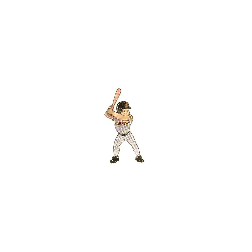 San Francisco Giants MLB Light Up Animated Player Lawn Decoration (44)