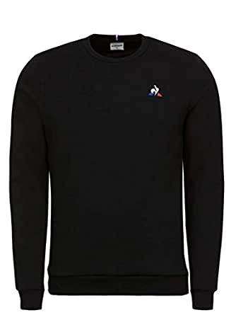 Le Coq Sportif Essential Crew Sweat Shirts for Men - Black XL